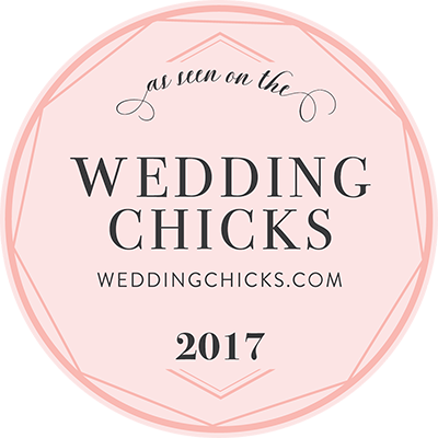 Check out our recent feature on Wedding Chicks!