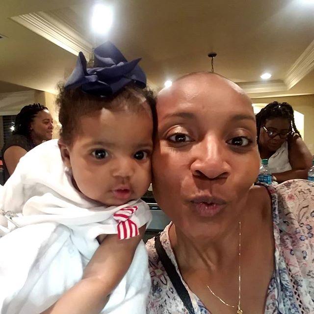 Baby Cloe and I