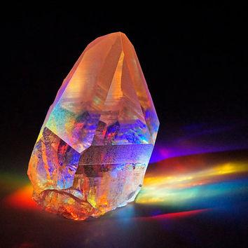 Chakra vogel crystal
