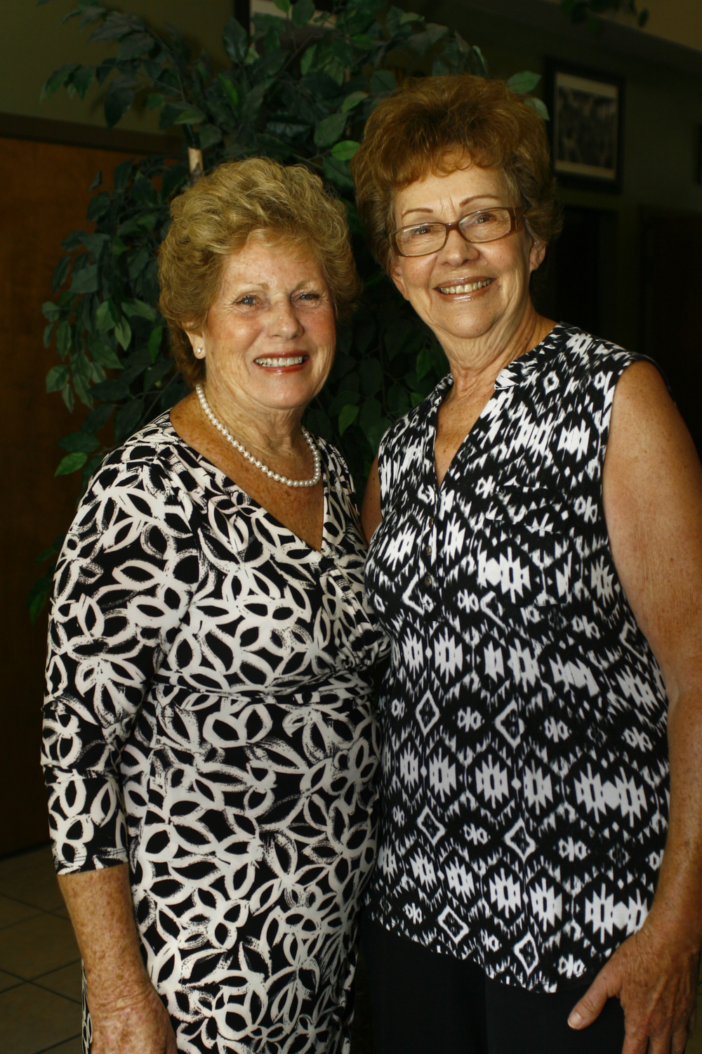 Pictured: left, Shirley beckwith  right, janette carnette