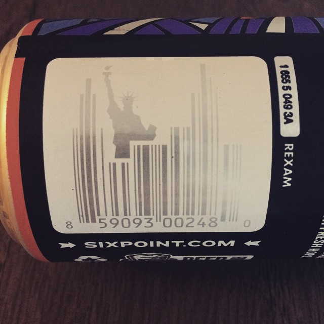 Intense barcode. #sixpointBrooklyn #sixpointAbigale