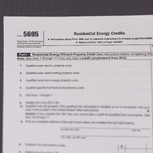 Tax Breaks And Energy Credits Deakon Home Services