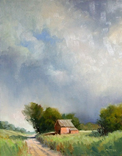 Summer Showers, 14x11.JPG