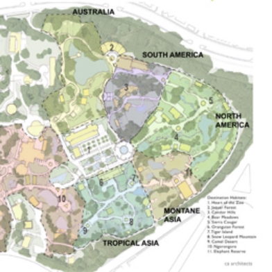 SF Zoo - Master Plan