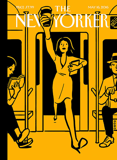 Christoph Niemann: New Yorker front cover
