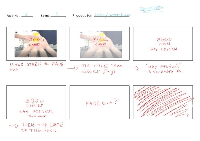 filmed storyboard 2