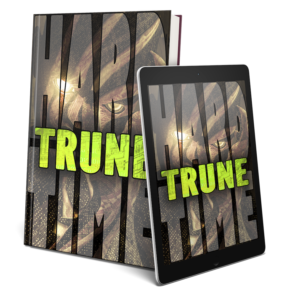 "TRUNE - In Book 4, ""Trune,"" a long awaited arrival bursts into the world, slaughtering all that stand in her way. As characters from previous novels reappear and unify, will they survive to understand their greater destiny?"