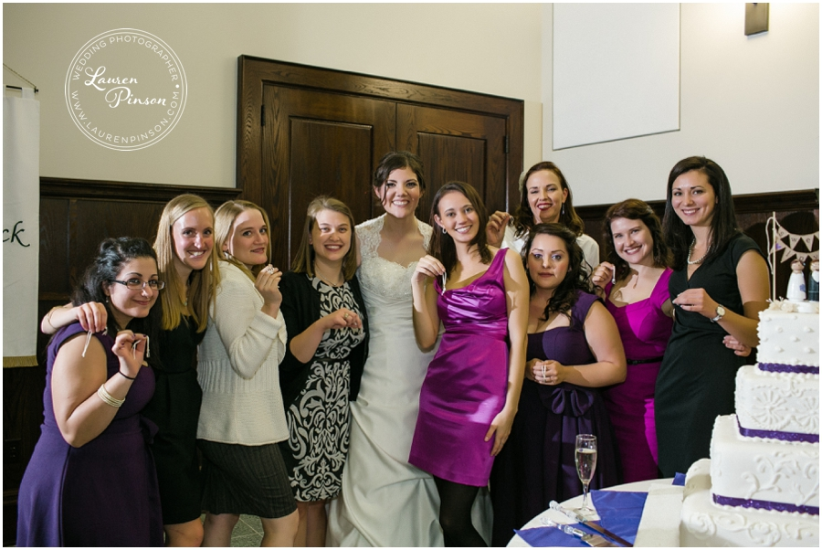 st-patrick-cathedral-wedding-fort-worth-cake-pull-purple-vintage-dresses-lace-back-dress-new-orleans-traditions-catholic-lauren-pinson-photography