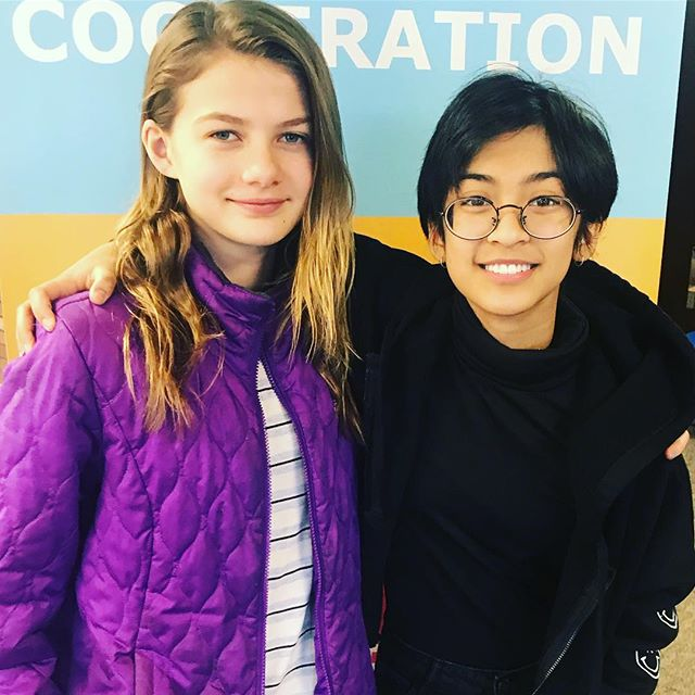 We would like take this opportunity to tell you about our eighth graders (two pictured here!) These are our leaders. They are independent, thoughtful, creative, empathetic change makers! They make a difference in our community and set the tone for a student population that knows Everyone Matters! Thank you for being our leaders and simply awesome humans! We are glad you are here! Your presence makes LUA a better place! #weCODE #LUA8thgraders