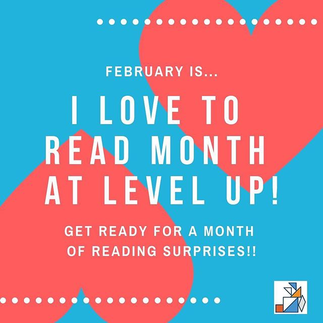 Gear UP for a month-long reading extravaganza! It's going to be AWESOME! ❤️🥰😍#weCODE #WE❤️READING