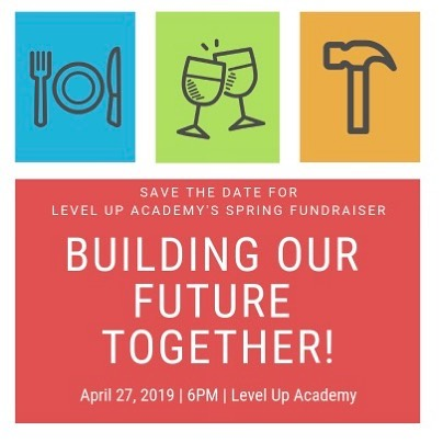 Save the date for our spring fundraiser! You won't want to miss out - student art showcase - stories of success - explorations in STEAM - food - fun - community! Help us build our future! Our kids deserve it! #LUA #weCODE #supportLUA2019