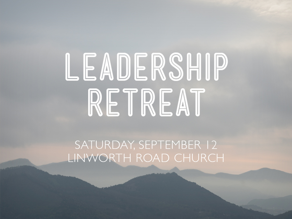 Leader's Retreat 2015