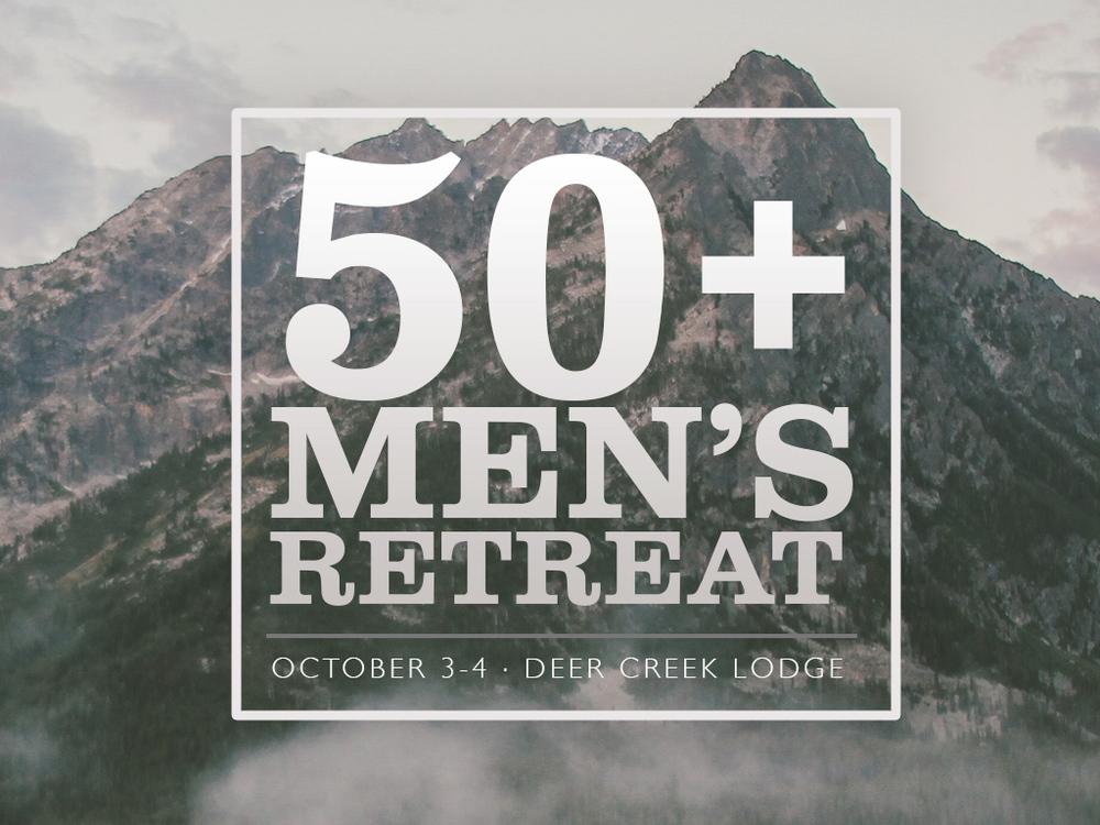 50+ Men's Retreat