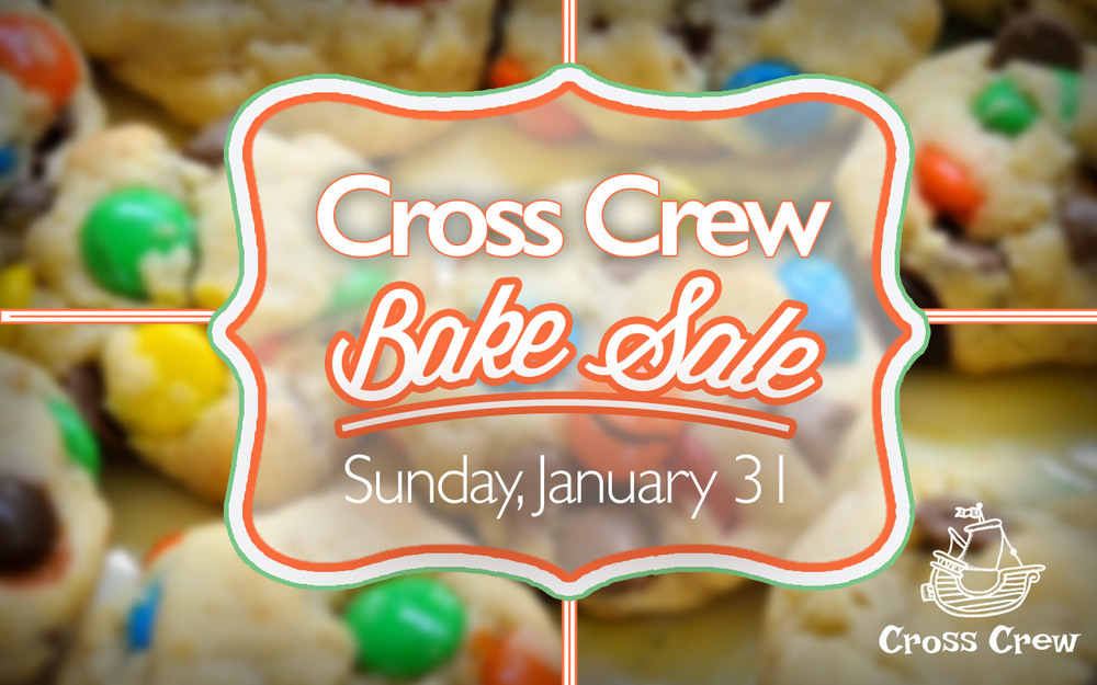 Cross Crew Bake Sale