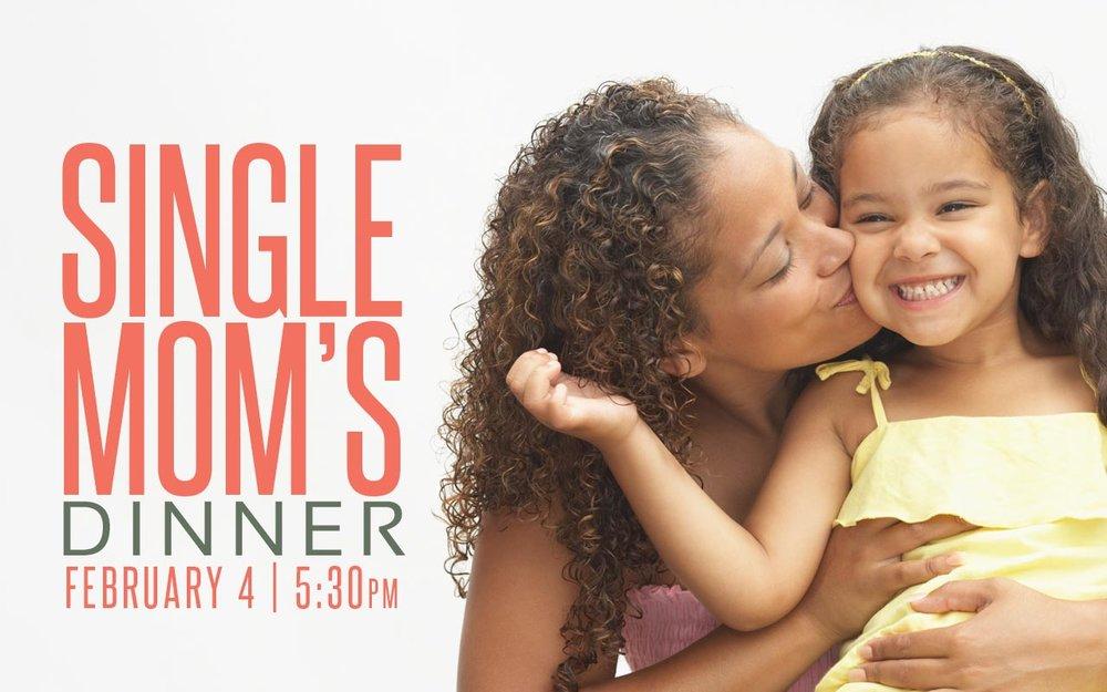 Single Moms Dinner