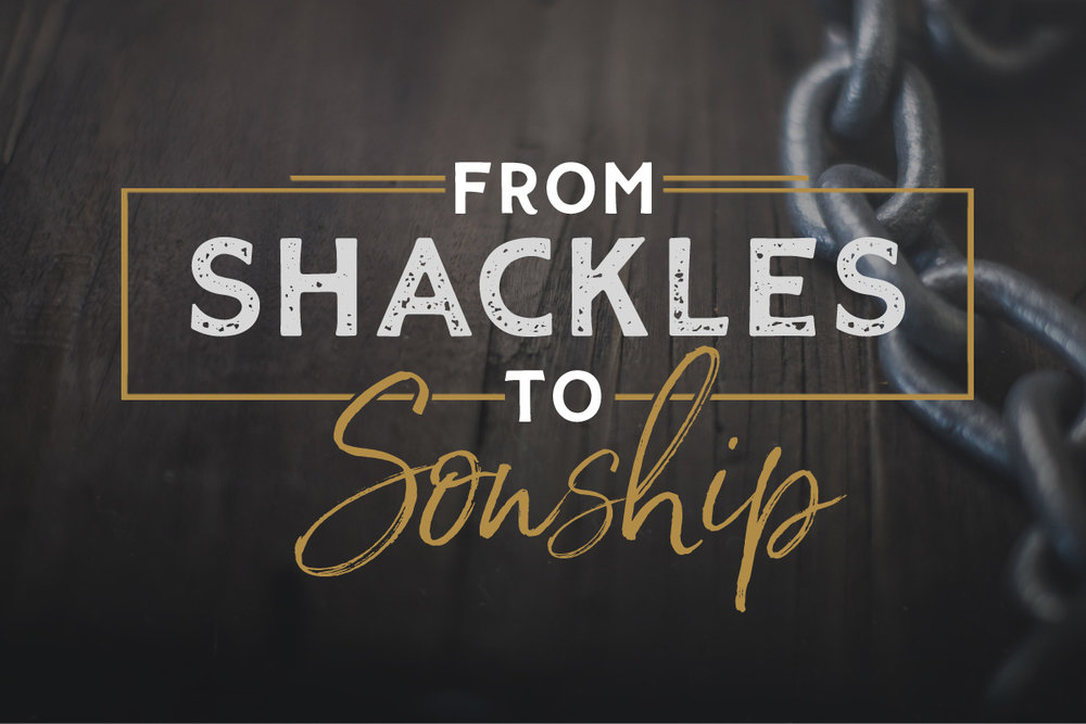 From Shackles to Sonship - Galatians    September - Present
