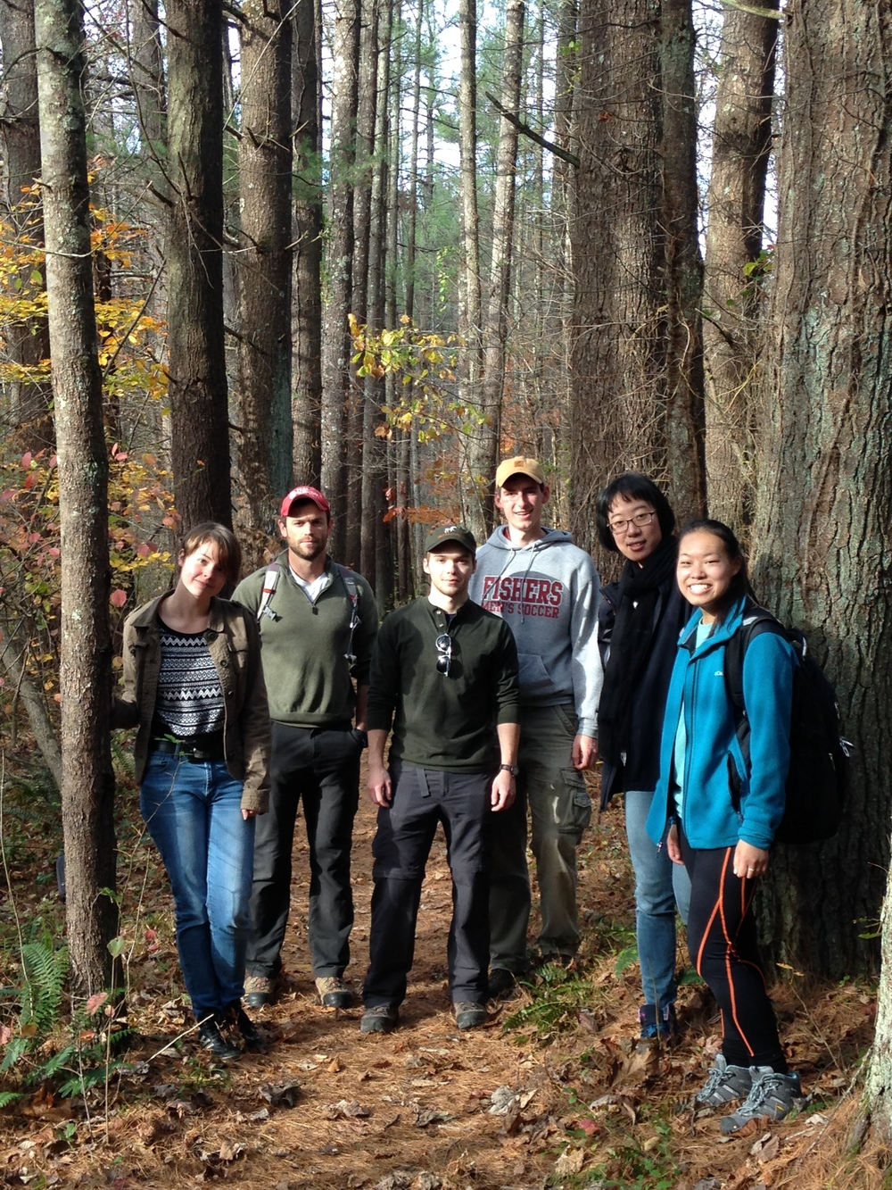 Attari Lab Hike in Yellowwood - 2015