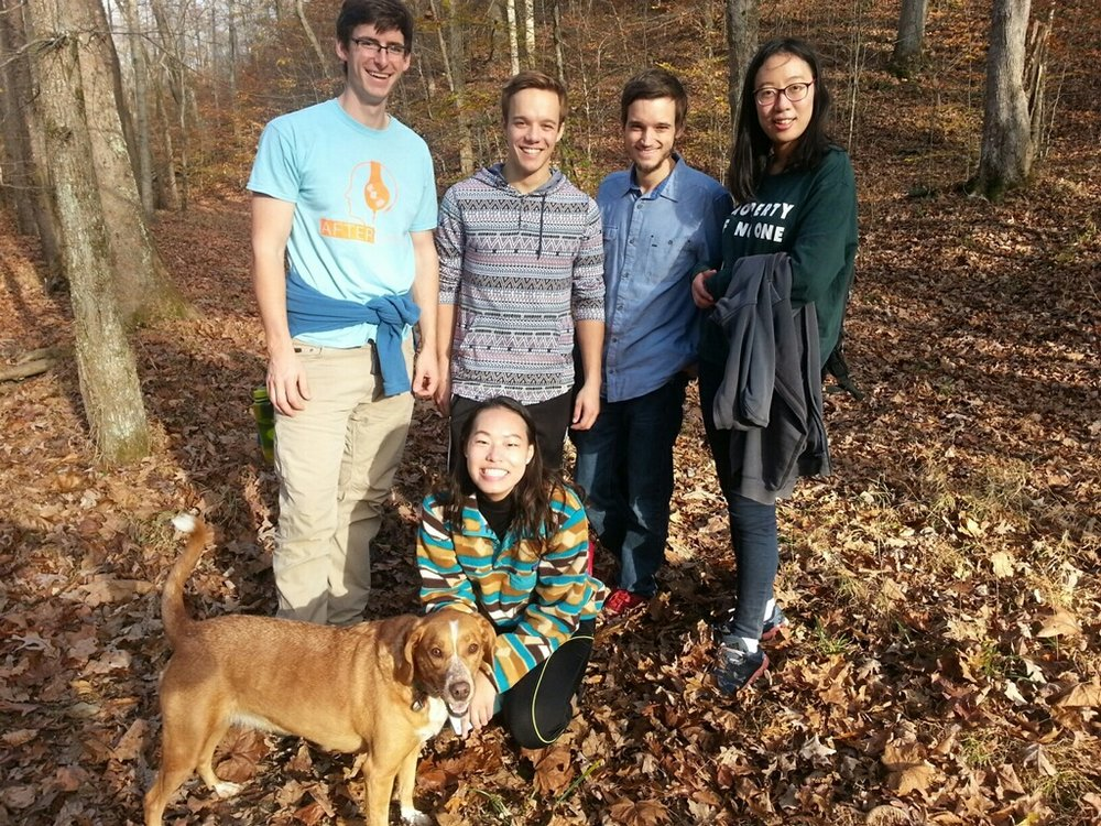Lab Hike 2016 - Pate Hallow