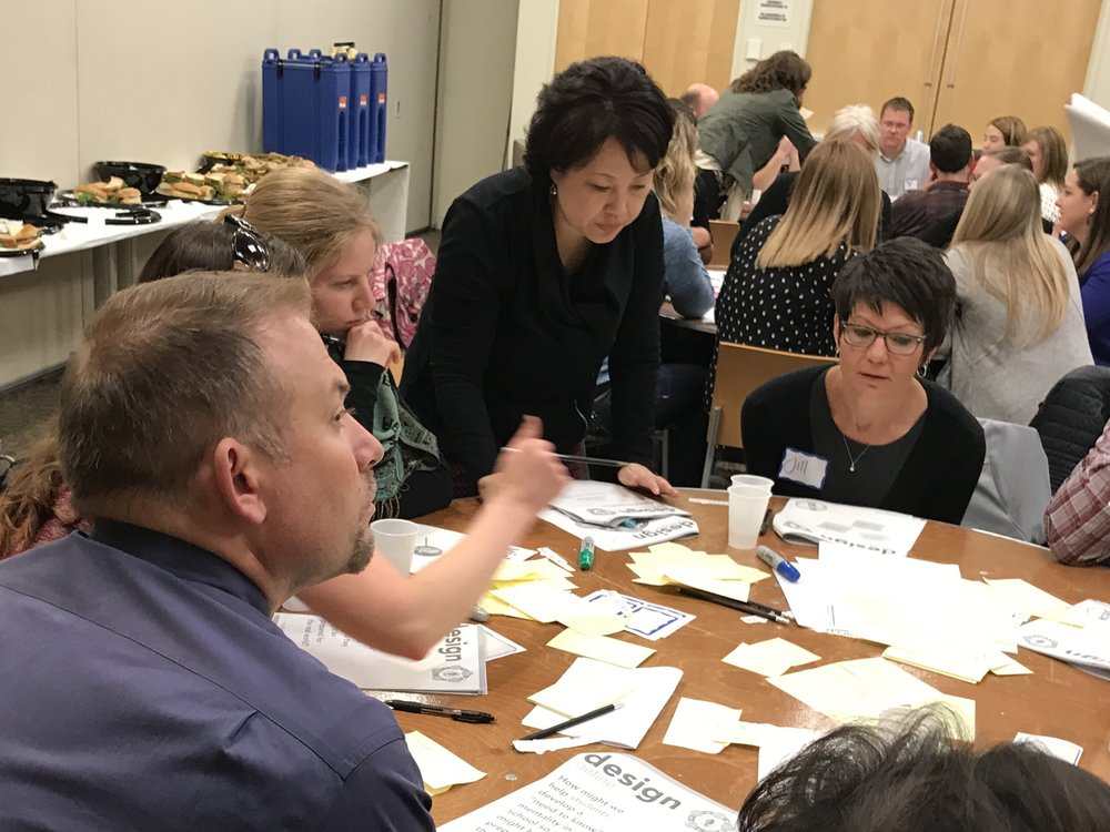 In all of our engagements at 2Rev, we work to create authentic, personalized learning experiences for educators that model the approach we seek for kids. This photo is from a recent design kick-off with the bush foundation in minnesota. Read more about that work here.
