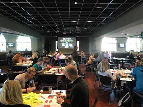 Teams had a chance to dig into design principles of individualized learning and were pushed to experiment with ideas they might not have thought possible.