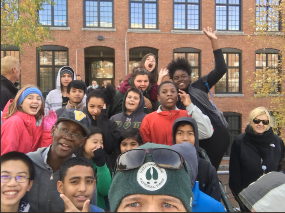 The joyfulness of Winooski students radiates out of this photo from the school district's Twitter feed. Follow  @WinooskiLearns  for more of the magic.