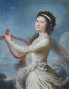 "John Russel's ""Portrait of a Young Lady as Muse Erato"""