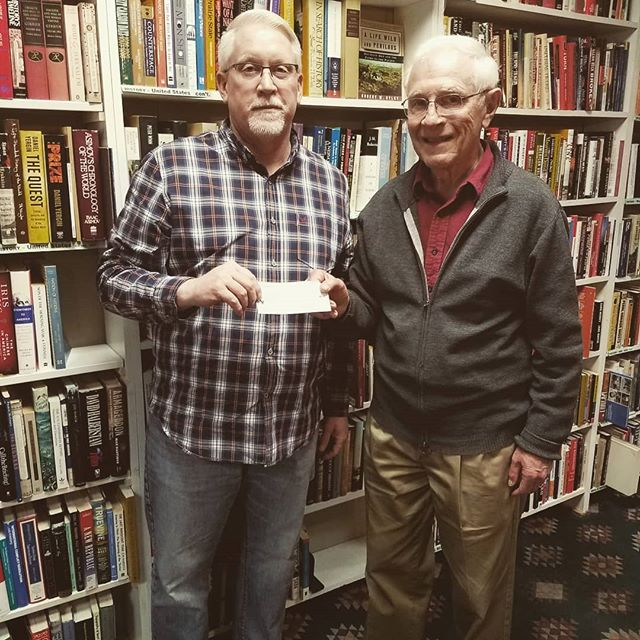 Thanks to Book ReViews for supporting New Hope in our efforts to care for and minister to those in need! #newhopeshelter #newtonkansas