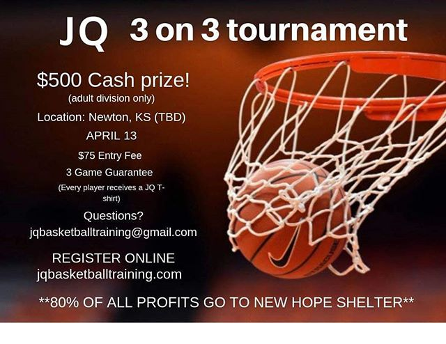 Hoop it up for a great cause! #newhopeshelter #newtonkansas #mcphersoncounty #marioncounty