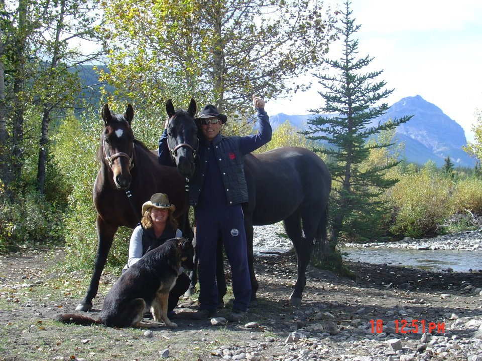 When not providing safety audits to companies in Western Canada, Ken and Vicki can be found riding their horses in the Rocky Mountains with their loyal dog Woodstock.