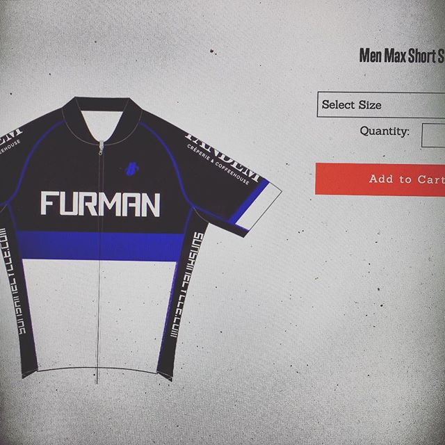 The link is live! Check out the Furman Cycling Team Facebook page for all your ordering needs :)