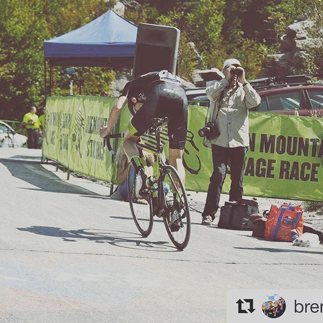 Rider @brendanrhim kicking it into the final gear up App Gap this weekend, helping him to finish the Green Mountain Stage Race as the top U23 rider and 5th overall!
