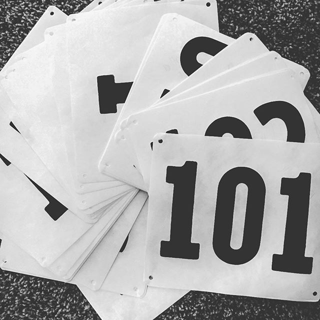 Numbers are assigned, stakes are almost done, and the excitement is building. Let the countdown to the Furman Cyclocross Classic begin! #t-24hours