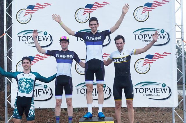 successful start to the road season with @brendanrhim and @chough95 going 1,2 at the @auburncycling road race!