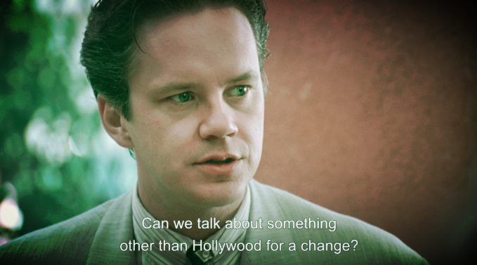 Maybe later. Certainly not now.  (photo: Tim Robbins in Robert Altman's THE PLAYER. property of New Line.)