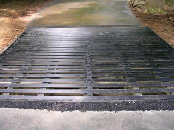 "Driveway grate (12' x 13' x 20"")"