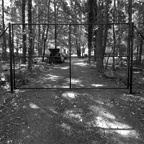 12 Foot Driveway Gate The Benner Deer Fence Company