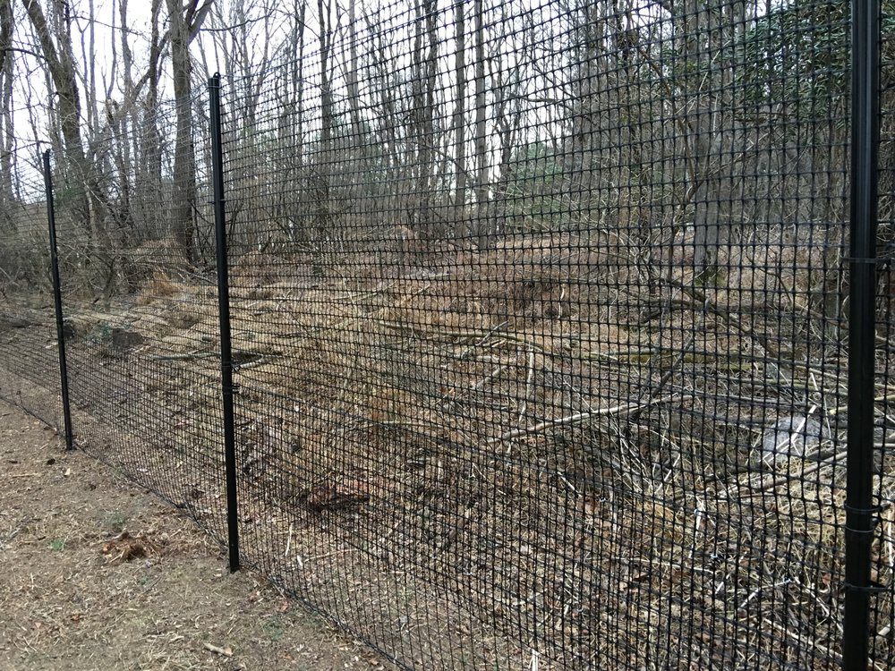 7 foot high, super duty deer fencing