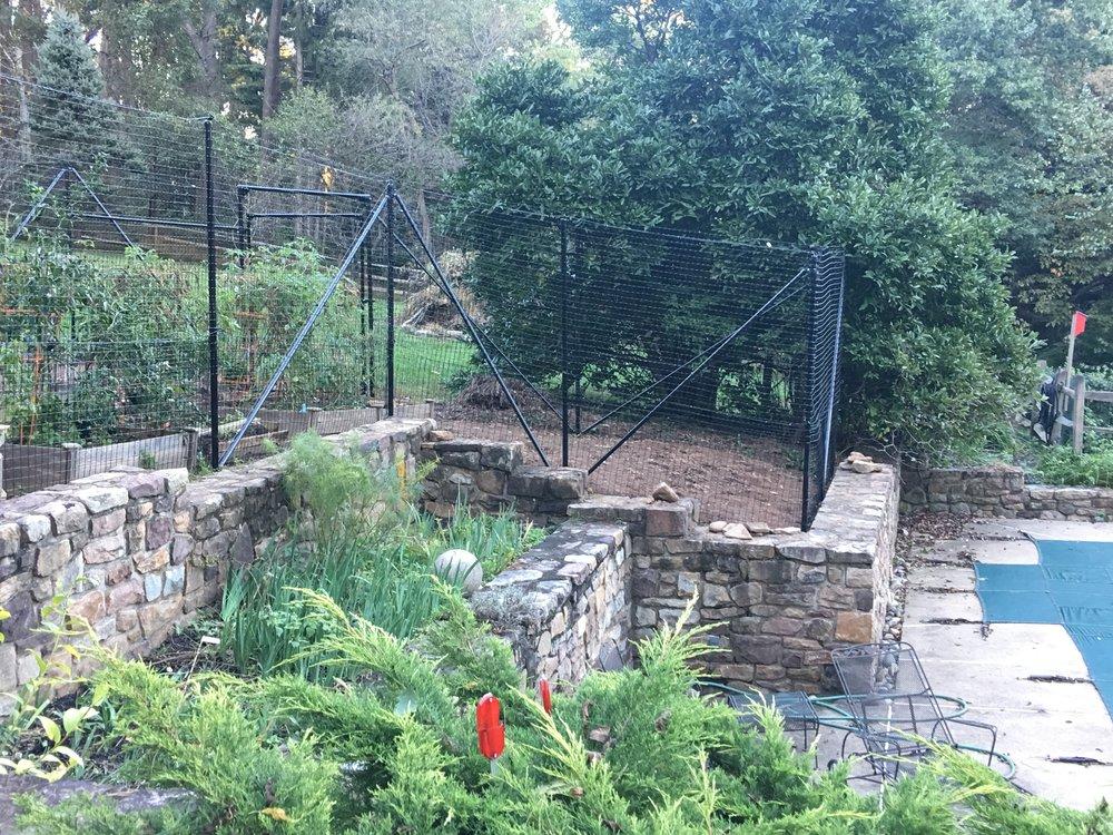 garden deer fence