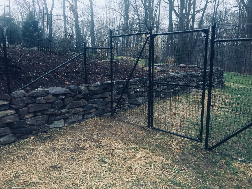 dog and garden fence 6 foot