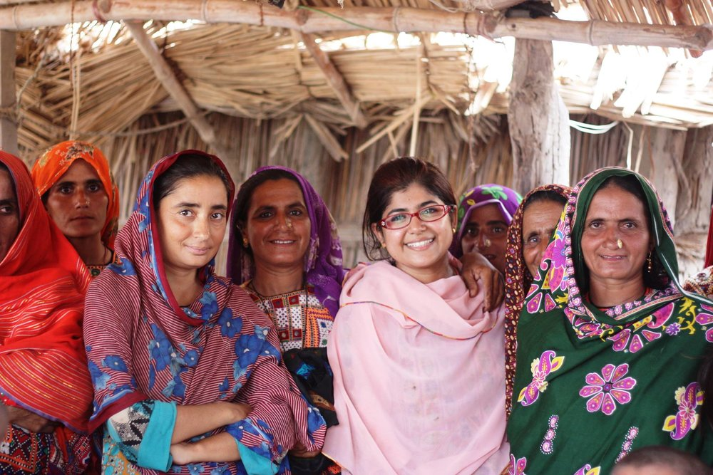 Khalida Brohi with Sughar women in Pakistan.jpg