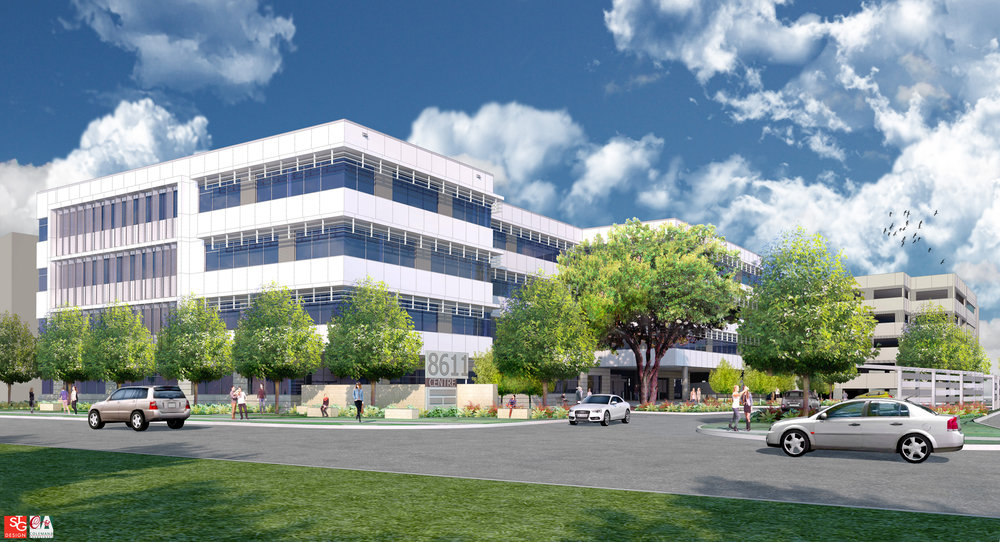 STG Design worked closely with developers at Eurus Development to design a 100,000 sf office building and a 450-car parking structure at MoPac Centre located at 8611 North MoPac. The project is scheduled for completion by November 2017.