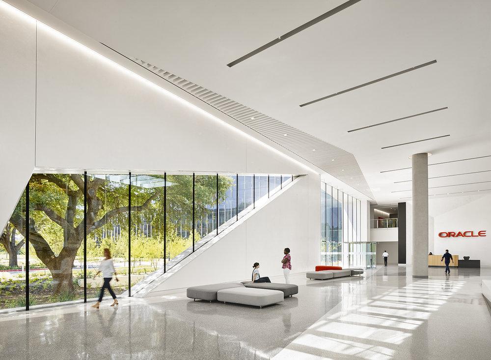 Oracle Waterfront Campus 560,000 sf Austin, TX LEED Gold® AEGB Four-Star