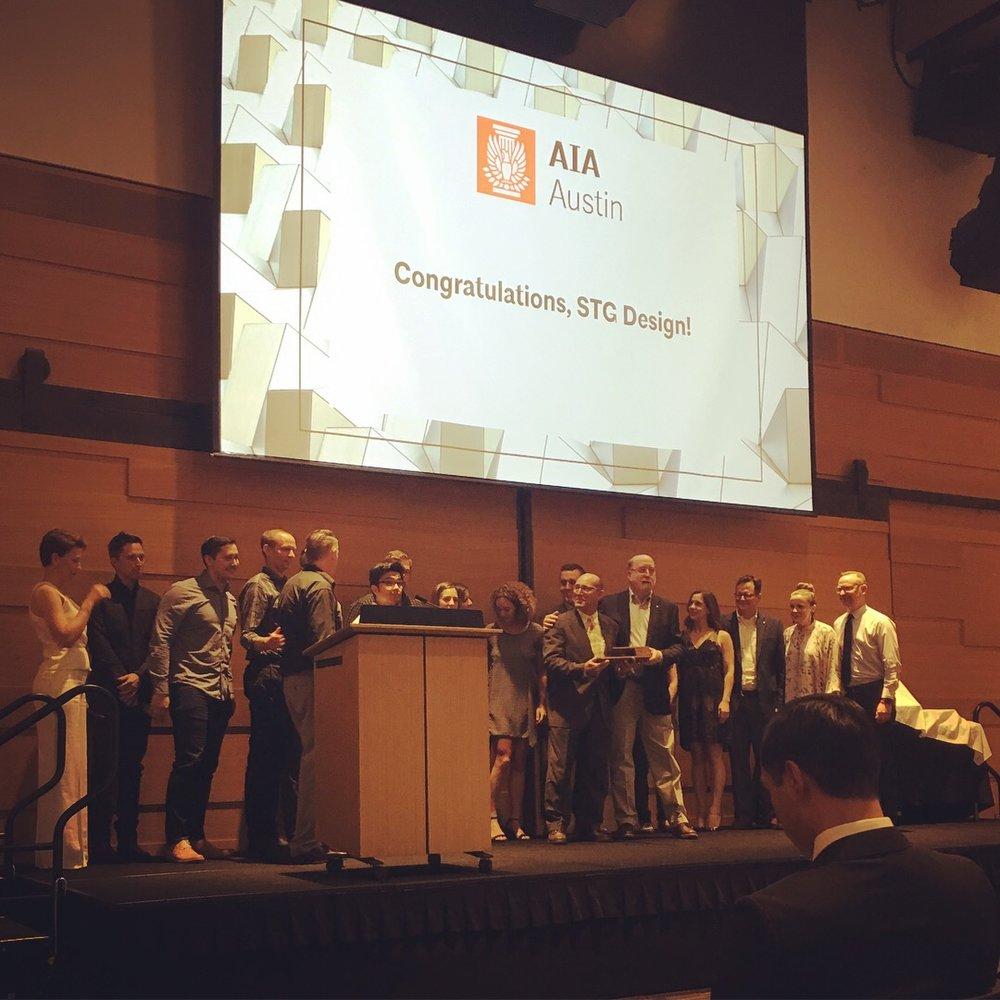 2018 Firm Achievement Award | AIA Austin
