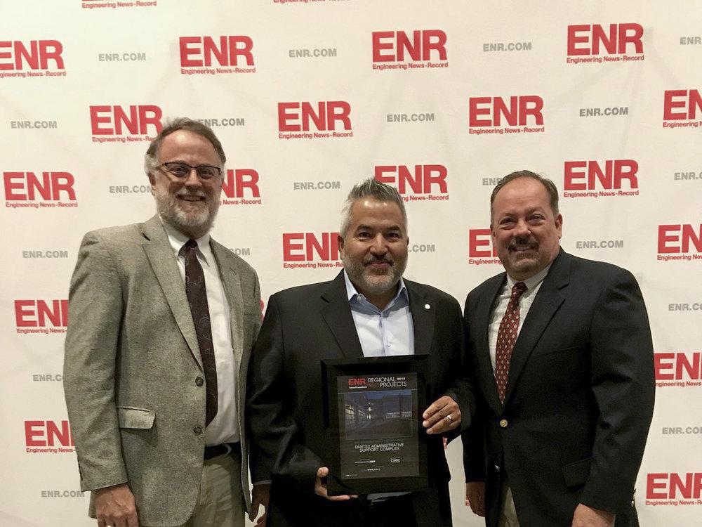 2018 ENR Best Regional Project, Government | Public Building - Pantex