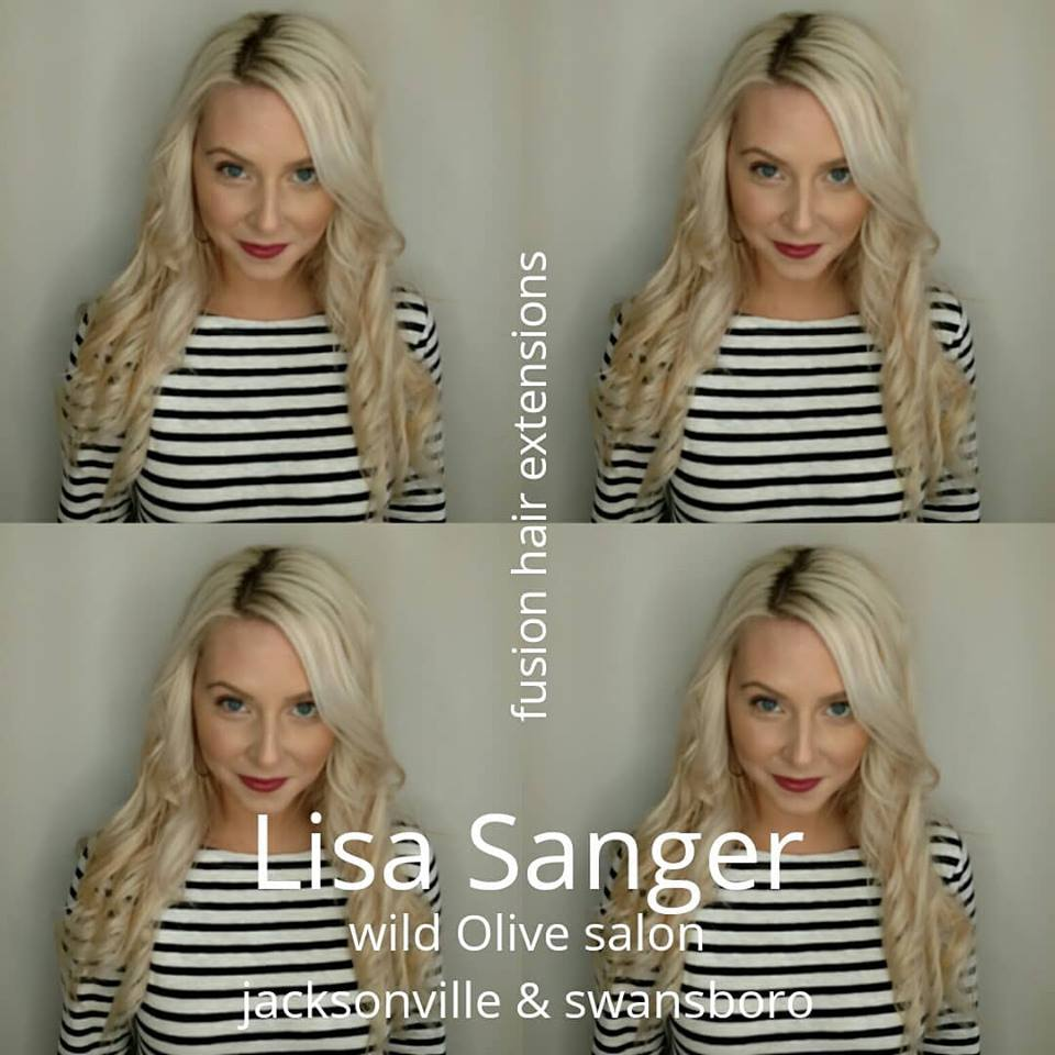 Fusion Hair Extensions Wild Olive Salon