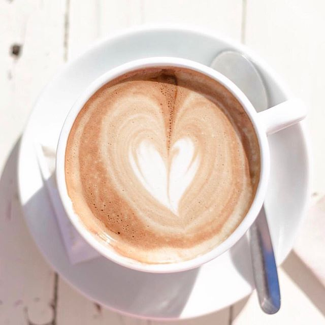 💉✨💉✨ But first...coffee ☕️ #monday #coffee #nyc #parkaveskin #tribeca