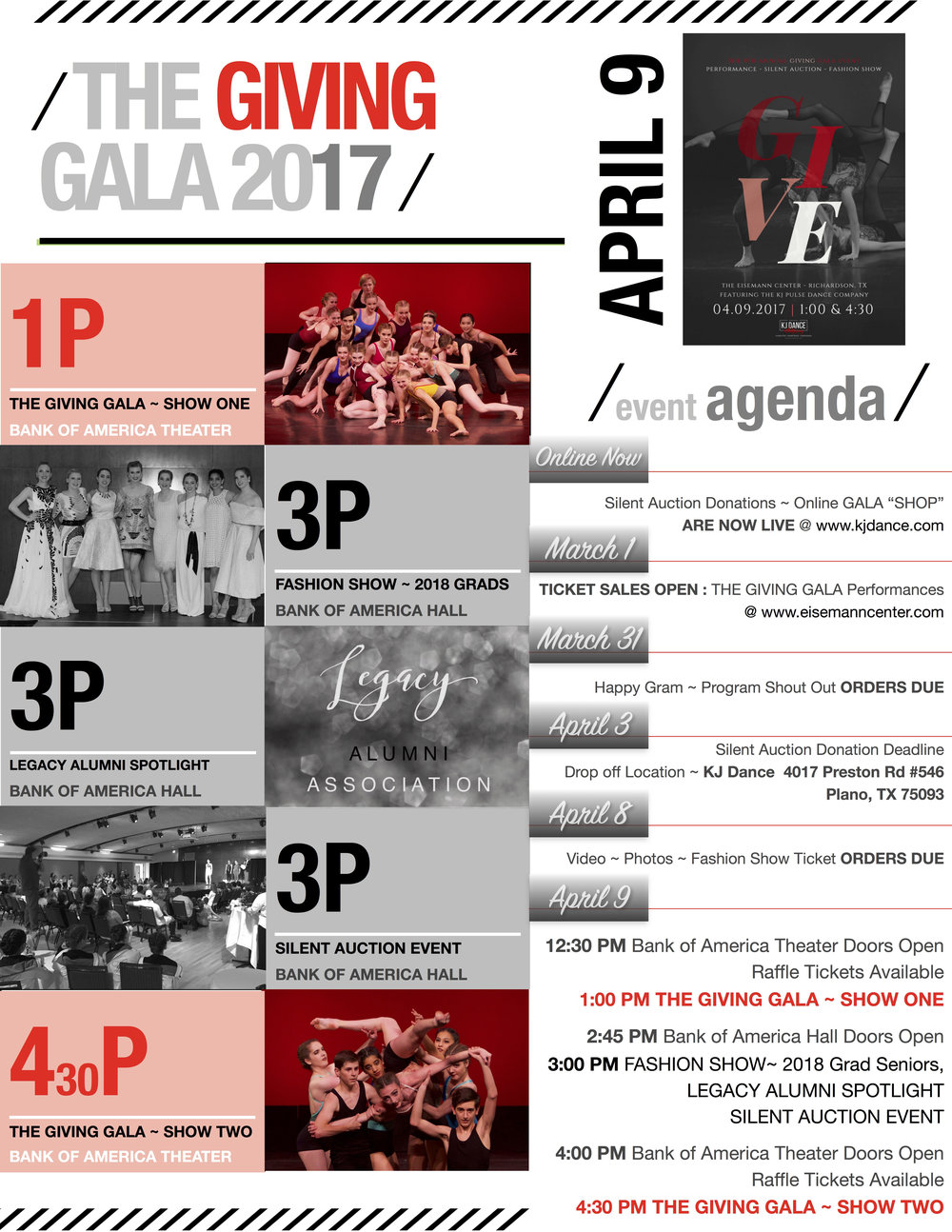 Gala Agenda. Right click to save.