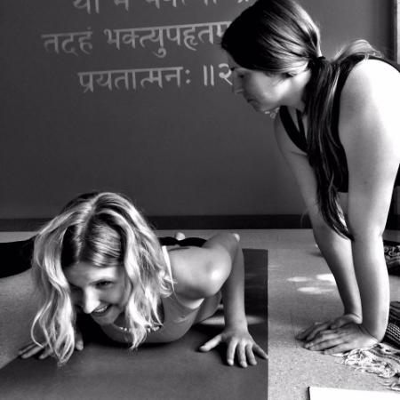 Britt:Caitlyn Yoga school 2015.jpg