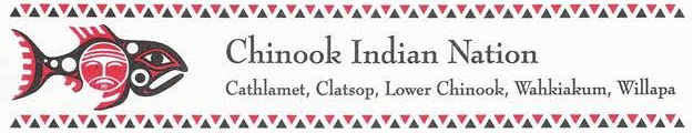 (logo is being used with the express permission of Chinook Indian Nation.