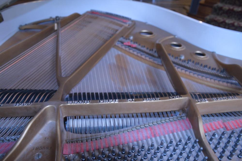 Dirty-Dusty Piano Soundboard